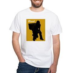 iPOOD - White T-shirt
