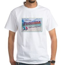 Florida God's Waiting Room - White T-shirt