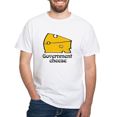 Government Cheese White T-shirt