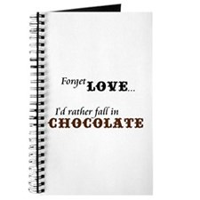 I'd Rather Fall in Chocolate Journal