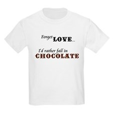 I'd Rather Fall in Chocolate T-Shirt