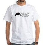 Morrie Wig Queens Blvd T-shirt in White