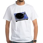 Turntable T-shirt White