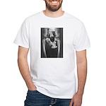 PELVIS w/ GARDEN GNOME - White T-shirt