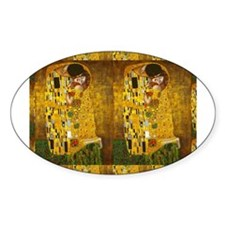 Klimt Kiss 2 Decal