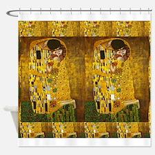 Klimt Kiss 2 Shower Curtain
