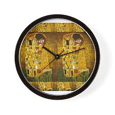 Klimt Kiss 2 Wall Clock