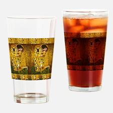 Klimt Kiss 2 Drinking Glass