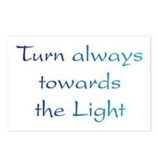 Turn Towards Light Postcards (Package of 8)