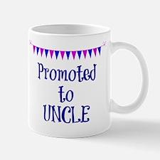 Promoted to Uncle, celebration banner Mug