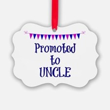 Promoted to Uncle, celebration ba Ornament