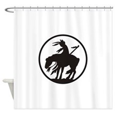 AMERICAN INDIAN OPEN Shower Curtain