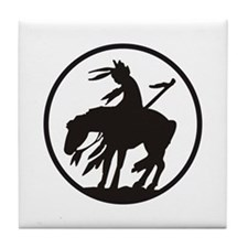 AMERICAN INDIAN OPEN Tile Coaster