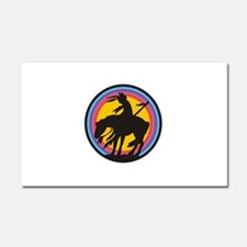 AMERICAN INDIAN Car Magnet 20 x 12