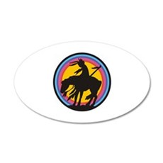 AMERICAN INDIAN Wall Decal