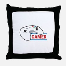 GAMER Throw Pillow