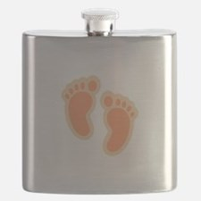 BABY FEET Flask