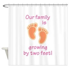 FAMILY IS GROWING Shower Curtain