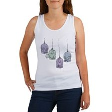 Colorful Birdcages 3 Tank Top