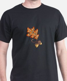 FALL OAK LEAF AND ACORNS T-Shirt
