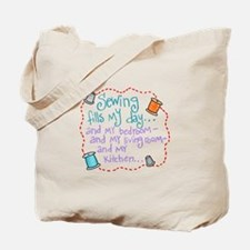 Sewing Fills My Day Tote Bag