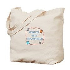 World's Best Seamstress Tote Bag