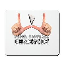 Paper Football Champion Mousepad