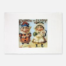 Punch and Judy 5'x7'Area Rug