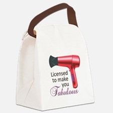Licensed To Make You Fabulous Canvas Lunch Bag
