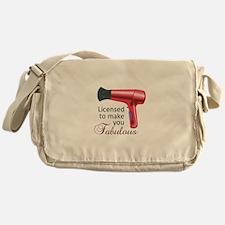 Licensed To Make You Fabulous Messenger Bag