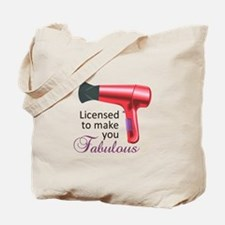 Licensed To Make You Fabulous Tote Bag