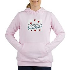 XoXo Love Women's Hooded Sweatshirt