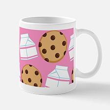 Milk and Cookies Pattern Mug