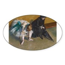 Degas Waiting Decal
