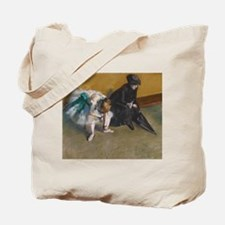 Degas Waiting Tote Bag