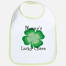 Mommys lucky charm Bib