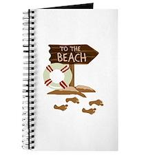FOOTPRINTS TO THE BEACH Journal