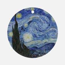 Van Gogh Starry Night Ornament (Round)