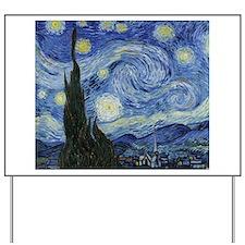 Van Gogh Starry Night Yard Sign