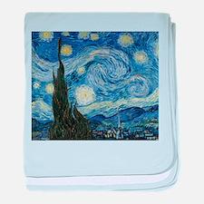 Van Gogh Starry Night baby blanket