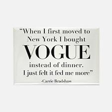 I Chose Vogue Magnets