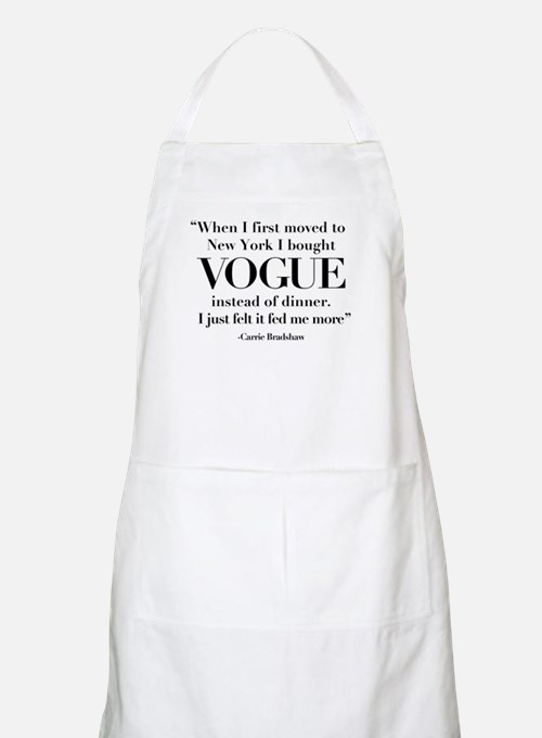 I Chose Vogue Apron