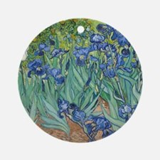 Van Gogh Irises Ornament (Round)