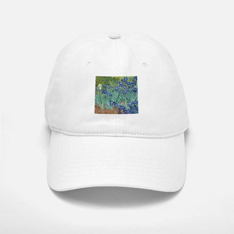 Van Gogh Irises Baseball Baseball Baseball Cap