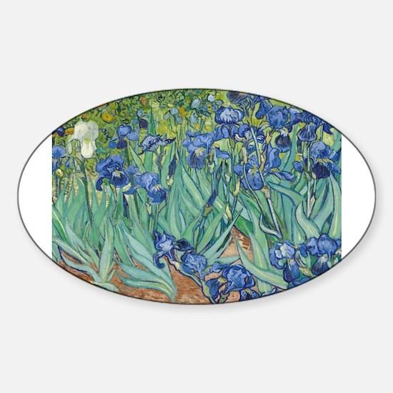 Van Gogh Irises Decal