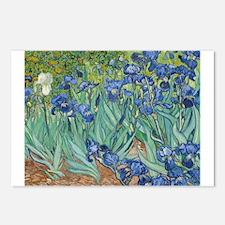Van Gogh Irises Postcards (Package of 8)