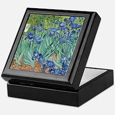 Van Gogh Irises Keepsake Box