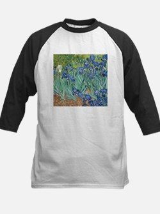 Van Gogh Irises Baseball Jersey