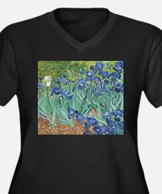 Van Gogh Irises Plus Size T-Shirt