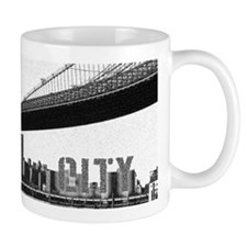 Cute Brooklyn bridge Mug